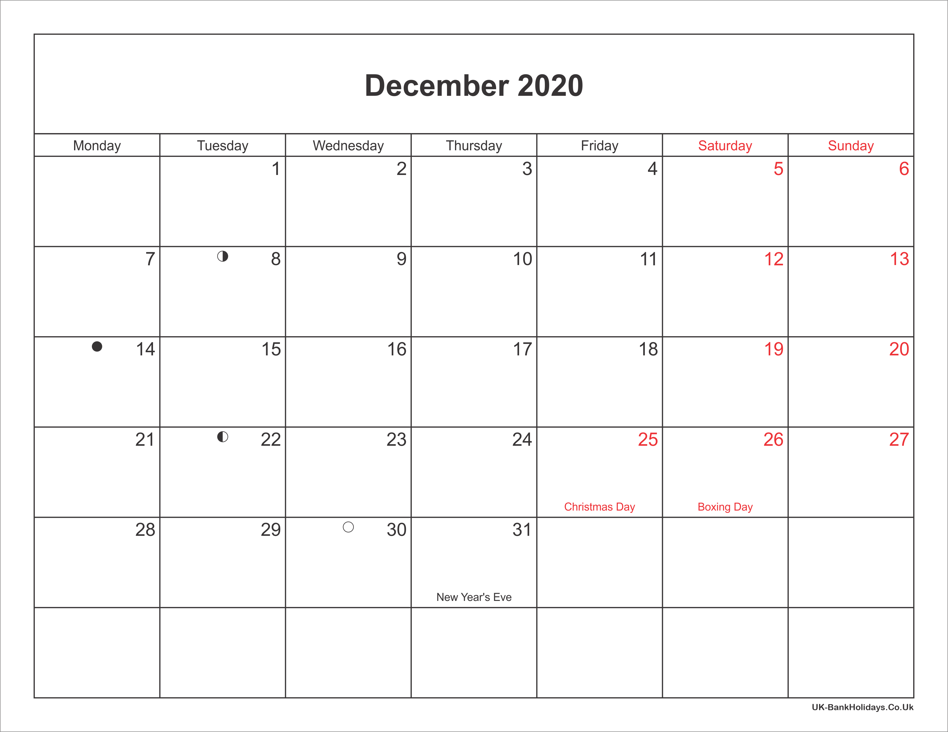 It is a photo of Delicate Printable Calendars December 2020